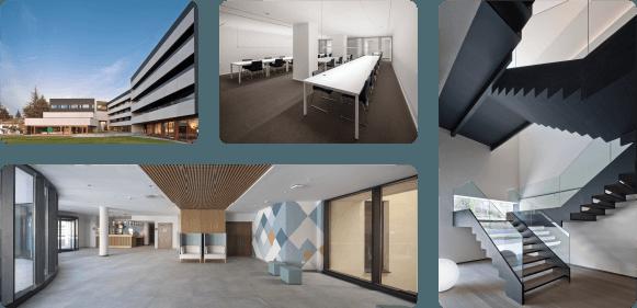 Hoteles, residencias, colegios y oficinas